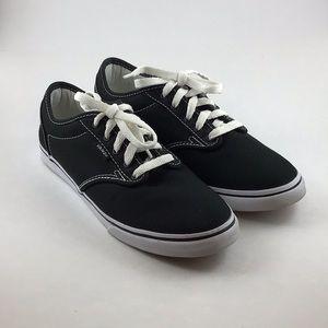 Black/White Vans